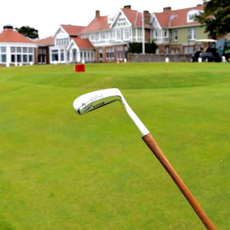 Silver Golf Putter