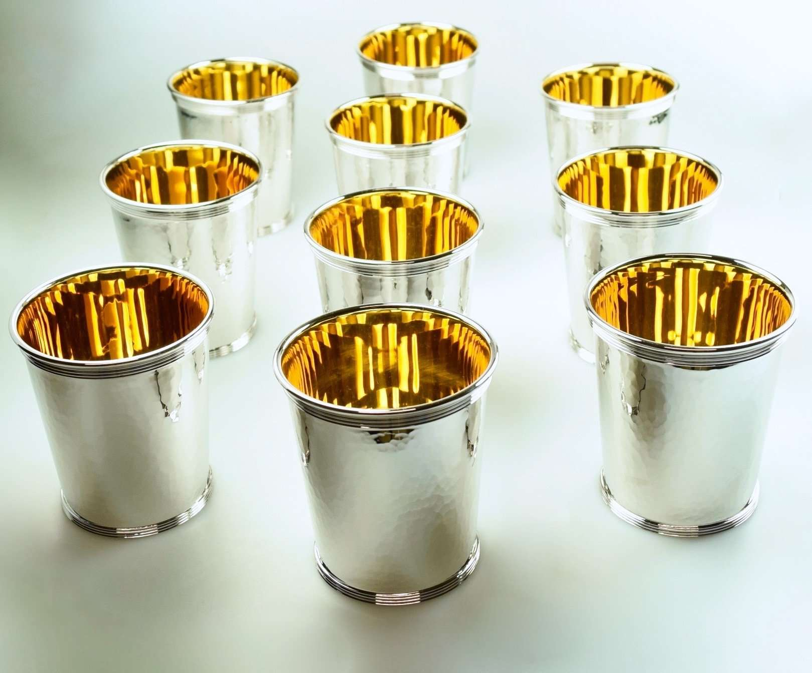 Silver Sporting Beakers